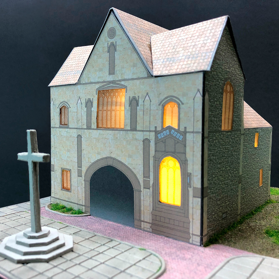 3D Model of the Priory Gatehouse